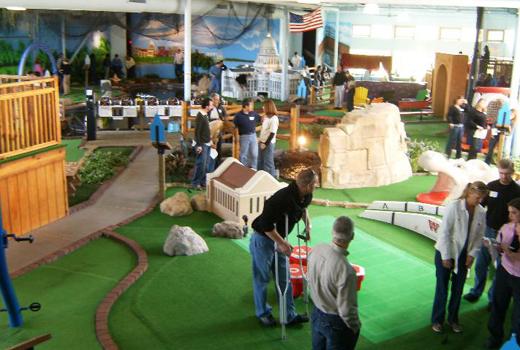 Day 16 Vitense Indoor Mini Golf Bunbury Associates Realtors Blog